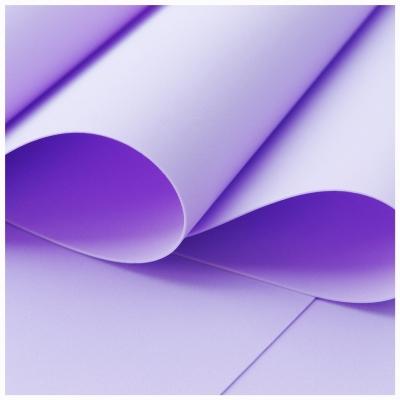 Foamiran pastelový fialový