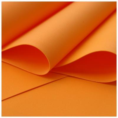 Foamiran oranžový