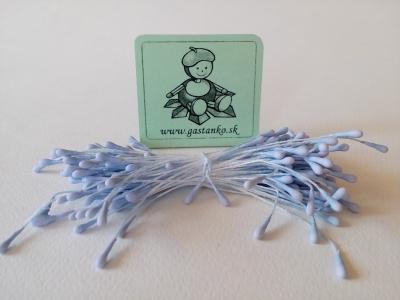 Tyčinky kvietkov mini matné pastelové modré