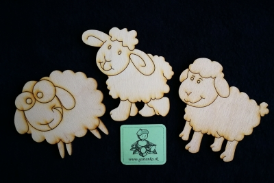 Tri veselé ovečky
