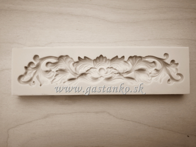 Silikónová forma Baroková bordúra