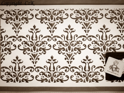 Šablóna Elegantné ornamenty
