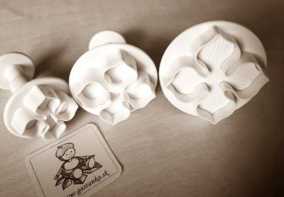 Vykrajovátko Kvet hortenzie 3-set