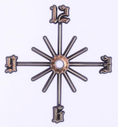 Číselná hviezdica na hodiny 14cm SAZ23