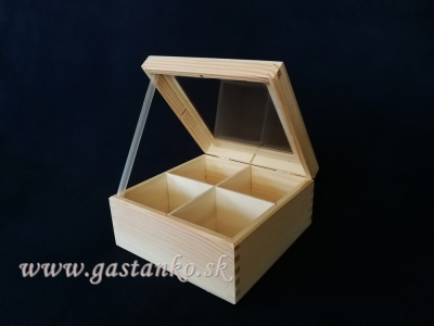 Krabička čajová 4BUS