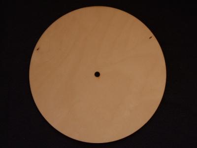 Hodiny kruh 40x6 PRG