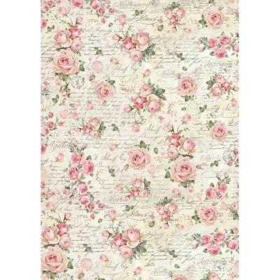 Textúra s ružami