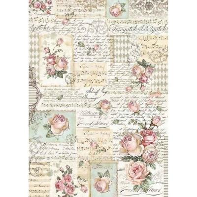 Ruže a manuskript