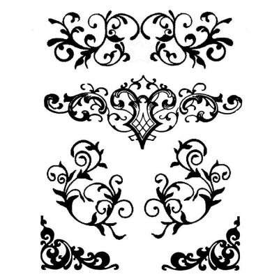 Šablóna Ornamenty