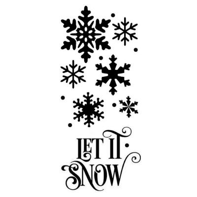 Šablóna Nech sneží