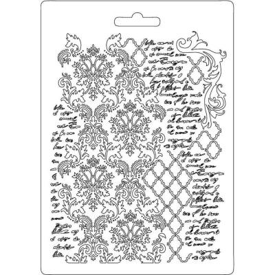 Odlievacia forma plytká Textúra a písmo