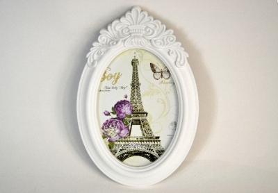 Plastový vintage rámček s ornamentom