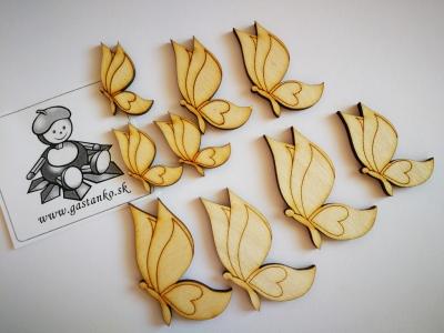 Motýliky 9ks