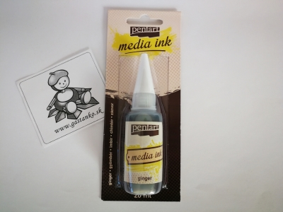 Media Ink ginger-zázvor