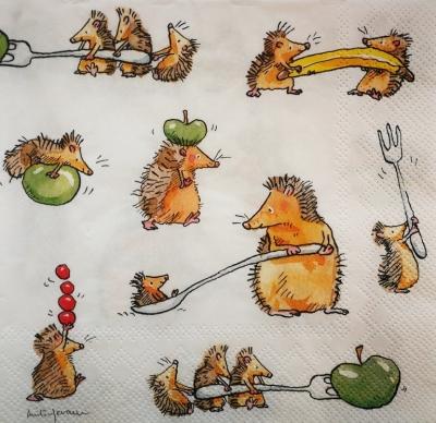 Veselí ježkovia