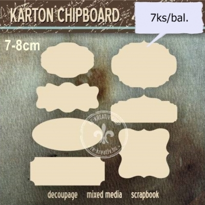 Chipboard Sedem tabuliek