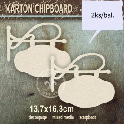 Chipboard Tabuľka