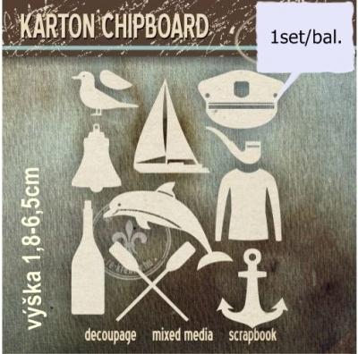 Chipboard Námornícky set