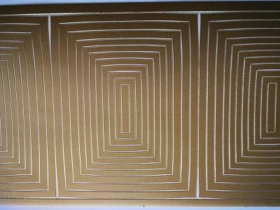 Samolepka obdľžnikové rámčeky zlaté