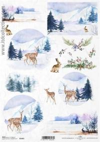 Vianočné a zimné papiere