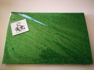 Dekorguma samolepiaca trblietavá zelená