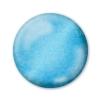 Dekoračné 3D pero trblietavé modro-strieborné