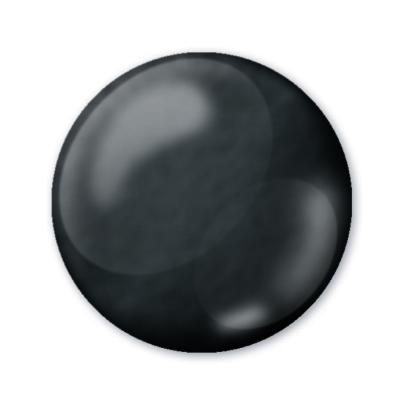 Dekoračné 3D pero čierne