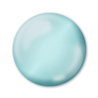 Dekoračné 3D pero oceľovo modré