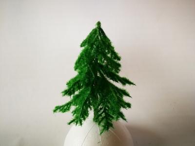 Zelený ihličnatý stromček 10cm