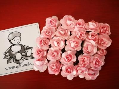 Ružičky 16mm 5ks ružové