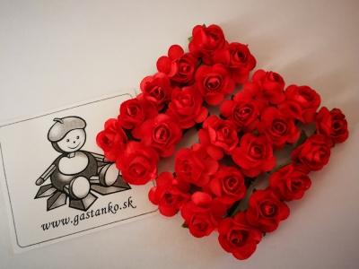Ružičky 16mm 5ks červené