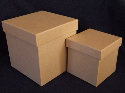 Kartónová krabička kocka 15x15x15