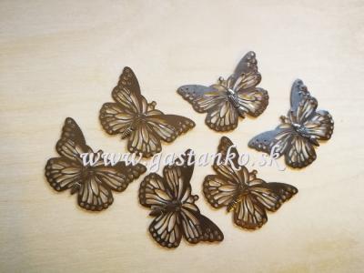Motýľ plochý 4cm (35179)