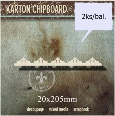 Chipboard Dekoračný pásik