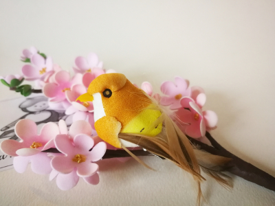 Vtáčik žltý