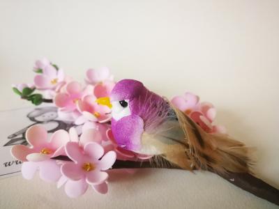 Vtáčik fialový