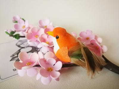 Vtáčik oranžový