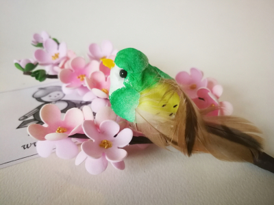 Vtáčik zelený