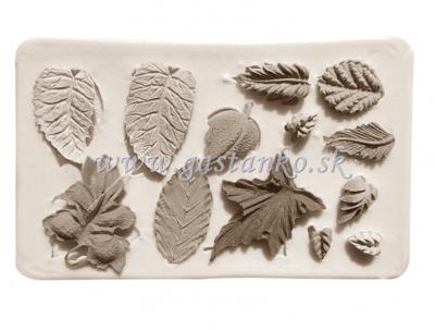 Silikónová forma Rôzne listy