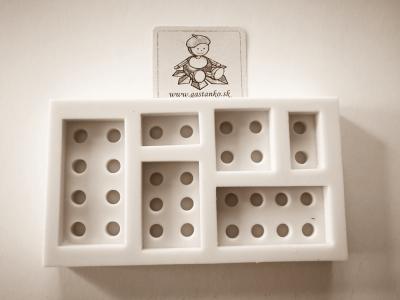 Silikónová forma Lego kocky