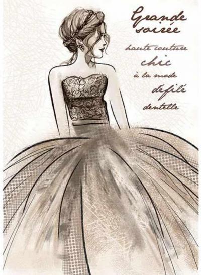 V spoločenských šatách