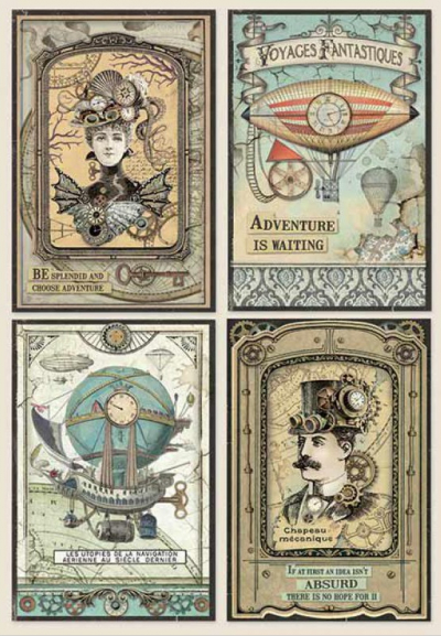 Fantastické cestovanie - karty
