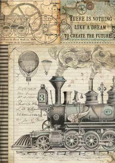Fantastické cestovanie - parná lokomotíva