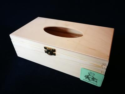 Box na papierové vreckovky otváraný zhora SU