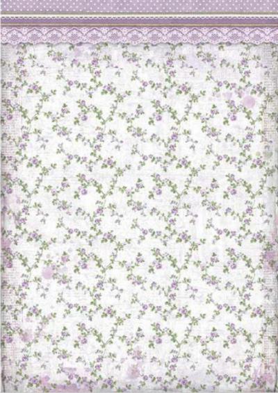 Textúra drobných fialových ružičiek