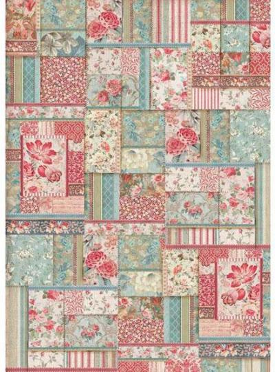 Kvetovaný patchwork
