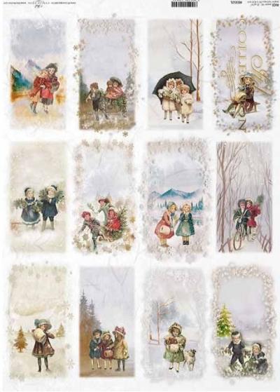 Vintage detičky na kartičkách