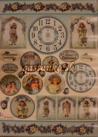 Viktoriánski anjelici a hodiny