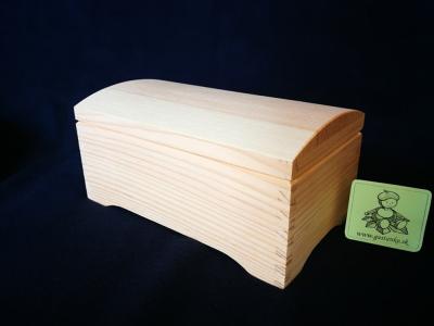 Kufrík obdľžnik retro s klenbou 11x20