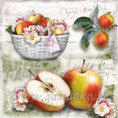Košík jabľčok